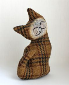 Cat Plush by Marjji on Etsy