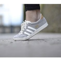 Adidas Originals GAZELLE Baskets basses solid grey/off white/gold prix promo Baskets femme Zalando 90.00 €