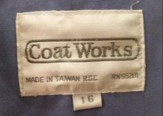 Coat Works Clothing Tags, Money Clip, It Works, Wallet, Coat, Sewing Coat, Money Clips, Peacoats, Nailed It