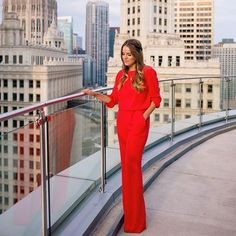 On galmeetsglam.com today wearing this red jumpsuit from @NeimanMarcus  sharing details of the Fall Fashion Event I'll be hosting this Saturday at the @NeimanMarcus Palo Alto (in the Standford Shopping Center) from 1-4pm! Hope to see you there! @liketoknow.it www.liketk.it/1FMng #liketkit #fallfashion #neimanmarcus #redjumpsuit
