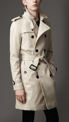 The classic Burberry trench coat.