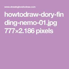 howtodraw-dory-finding-nemo-01.jpg 777×2.186 pixels
