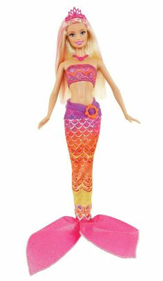 cc3427e6e44 Barbie Mermaid Tale 2 Doll - Merliah These are the colors that V wants for  her mermaid costume