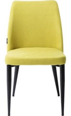 Kare Design Krzesło Amalfi limonkowe - 81529