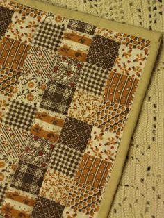 Miniature hand-quilted Dollhouse Quilt