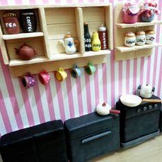 Kitchen dollhouse