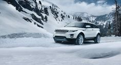 2012 Range Rover Evoque in Fuji White. #LandRover #RangeRoverEvoque