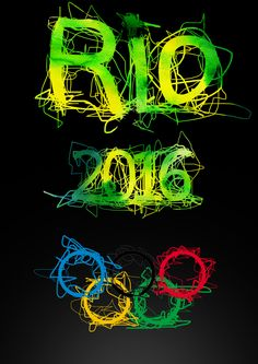 Rio 2016 - Olympic Games Typography Design