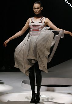 Hussein Chalayan- Transformative dresses, his pieces are AMAZINGGGGG!! Definitely worth watching in action!