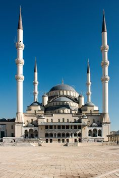 Places Around The World, Around The Worlds, Beautiful Mosques, Islam Muslim, Greek Islands, Art And Architecture, Ankara, Quran, Lighthouse