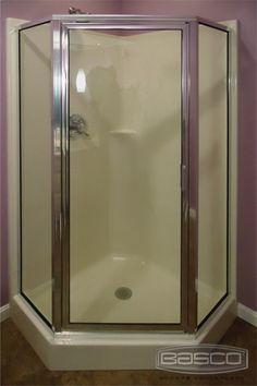 Basco can provide the door. A Neo-angle door & RODA by Basco Celesta Door u0026 Panel featuring 3/8