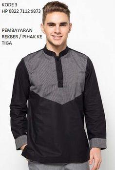 Contoh Model Baju Muslim Pria Modis Lengan Panjang  5dbb89331a