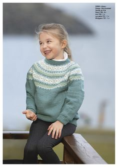 Baby Barn, Sweater Knitting Patterns, Girls Sweaters, Diy And Crafts, Fair Isles, Turtle Neck, Wool, Norway, Kids