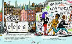 Keith Haring in un romanzo a fumetti scritto dalla sorella - Artuu Interactive Museum, New Children's Books, Keith Haring, Lovers Art, Art Day, Insta Art, New Art, Childrens Books, Book Art
