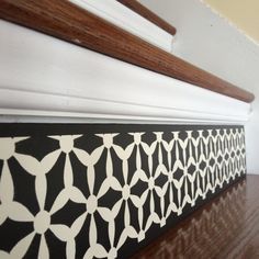 Old House Project Ideas / Old House Stairs Ideas - From Tribute Designs on Etsy, view the new 'Black & White Collection' today at www.tributedesigns.etsy.com!