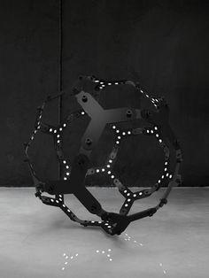 Joriswegner: Duality Is A Modular Lamp System...   Thvndermag Awesome Design