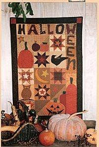 halloween quilt. Love it. (not far removed from one I've designed but have not yet made.)