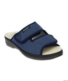 1d5ac74a2011 Womens Orthopedic Slip On Shoe Sandal – Wide Adjustable Diabetic Edema Shoe  Sandal