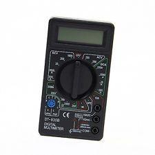Mini Portable Ammeter Voltmeter Handheld Tester Ohmmeter LCD Digital Multimeter