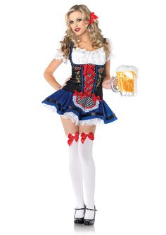 Awesome Costumes Flirty Fraulein Costume just added...