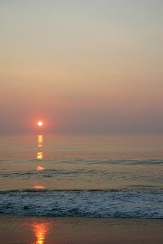 Sunrise in Nags Head, NC-- One of our favorite vacation spots! artsyannesd
