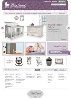Launched a custom eCommerce website design for a Minneapolis retailer of baby gifts and products.