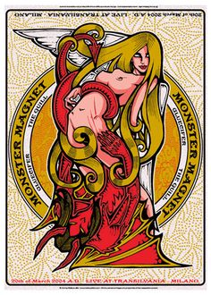 Monster Magnet   Gluecifer   The Quill     Transilvania   3/20/2004   Artist: Malleus