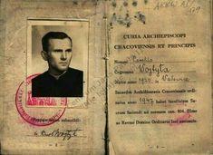 Pope John Paul II's passport as Father Karol Wojtyla Catholic Memes, Catholic Saints, Roman Catholic, Papa Juan Pablo Ii, Juan Xxiii, Young Pope, Pope John Paul Ii, Paul 2, Saint Esprit