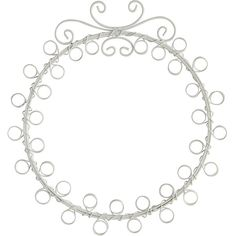 Pier 1 Imports Sainte Round Photo Holder (€15) ❤ liked on Polyvore featuring home, home decor, frames, borders, picture frame, white, round picture frames, white home decor, pier 1 imports and white frames