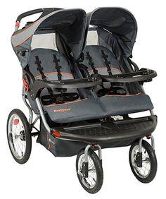Baby Trend Navigator Double Jogger Stroller, Tropic : Baby