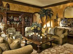 Interior de la casa del decorador Dallas decoración de interiores salas de estar…