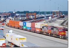 """A modern Intermodal Terminal on geographic Long Island would completely transform the East-of-Hudson region's freight logistics strategy, and would single-handedly bring about the """"freight rail revolution"""" we have been advocating for. Although Queens or Brooklyn likely would not be able to host a facility as large as the one shown above, it gives our website viewers an idea of the immense positive potential that introducing intermodal service to geographic Long Island would bring to the…"""