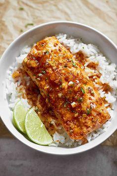 broiled Honey Garlic Salmon recipe