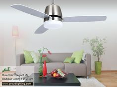 We have a large varies ceiling fans to suit all tastes and can provide not only traditional and modern ceiling fans, but also energy saving ceiling fan lights. Decorative Ceiling Fans, 52 Inch Ceiling Fan, Metal Canopy, Save Energy, Indoor, Ceiling Lights, Modern, Home Decor, Interior