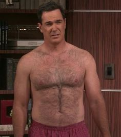 The most hairy beasts : Photo Hottest Male Celebrities, Celebs, Patrick Warburton, Chubby Men, Beautiful Men Faces, Hairy Chest, Mature Men, Older Men, Hairy Men