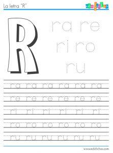 silabas con r