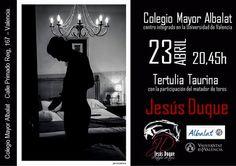 Toros en el Mundo--Jesús Duque acercará los valores de la Tauromaquia a jóvenes universitarios en Valencia