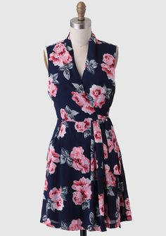 Carried Away Floral Dress