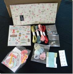 Third round of shares in a box......on my blog at http://www.stampingleeyours.blogspot.com