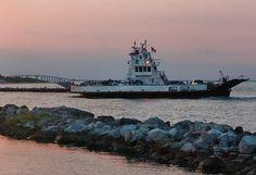 Daulphin Island Ferry to Gulf Shores, AL across Mobile Bay