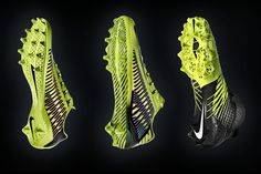 "NIKE, Inc. - Nike Football Accelerates Innovation with printed ""Concept Cleat"" for Shuttle Mens Football Cleats, Football Shoes, Nike Football, Soccer Cleats, Football Helmets, Nike Vapor, Designer Boots, Sports Equipment, Shoe Brands"