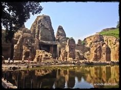 ArvindKatoch's Photography: Beautiful Front view of Masroor Rock Cut Temples