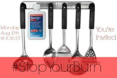 Join Us On August 17th @ 8:30 For A #StopYourBurn Twitter Party