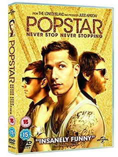 Popstar: Never Stop Never Stopping (DVD + Digital Download) [2016]