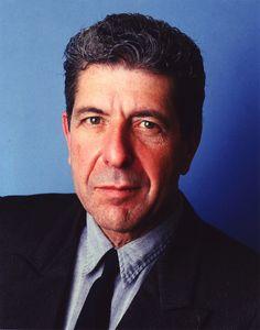 Striking Leonard Cohen Photographic Portrait - 1987 - DrHGuy