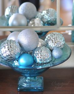 Now that Christmas is round the corner, it's time to think about the decoration, especially the theme. This year, we'd suggest you to put aside the tradition color combination and try blue and white/silver color scheme.You May Also Like To Read:	Top 40 Red And White Christmas Decoration Ideas...