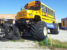 the little boy i nanny, has this exact school bus in miniature form. so awesome.
