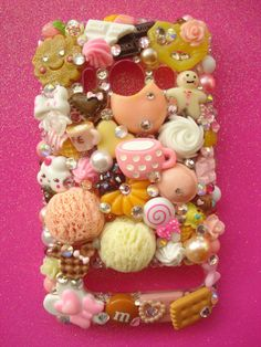 Treats & Bakery Sweets Decoden HTC Evo 4g Phone Case by LUXYLOLI, $70.00