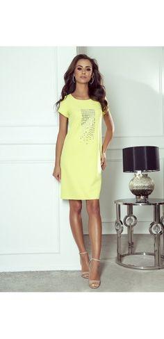 Sukienki wieczorowe - Kolekcja wiosenna    Sukienka z paskiem White Dress, Modern, Dresses, Fashion, Vestidos, Moda, Trendy Tree, Fashion Styles, Dress