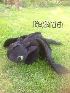 LiebesBinchen - OhneZahn Dino - gratis Pdf Schnittvorlage und Anleitung